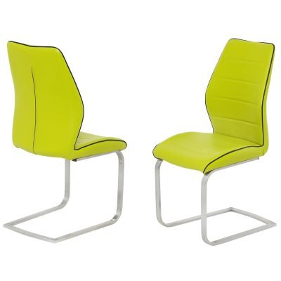 Ancona Green Dining Chair
