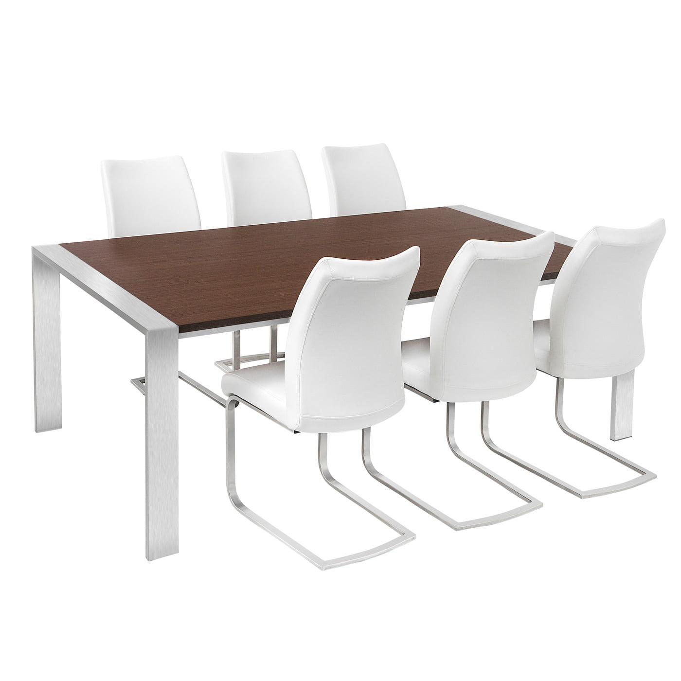 Chianti 2 0m Walnut Veneer Table Redtree Furniture