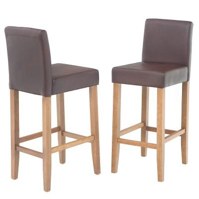 Harrison Brown PU Stools