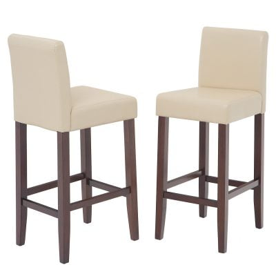 Harrison Cream PU Stools