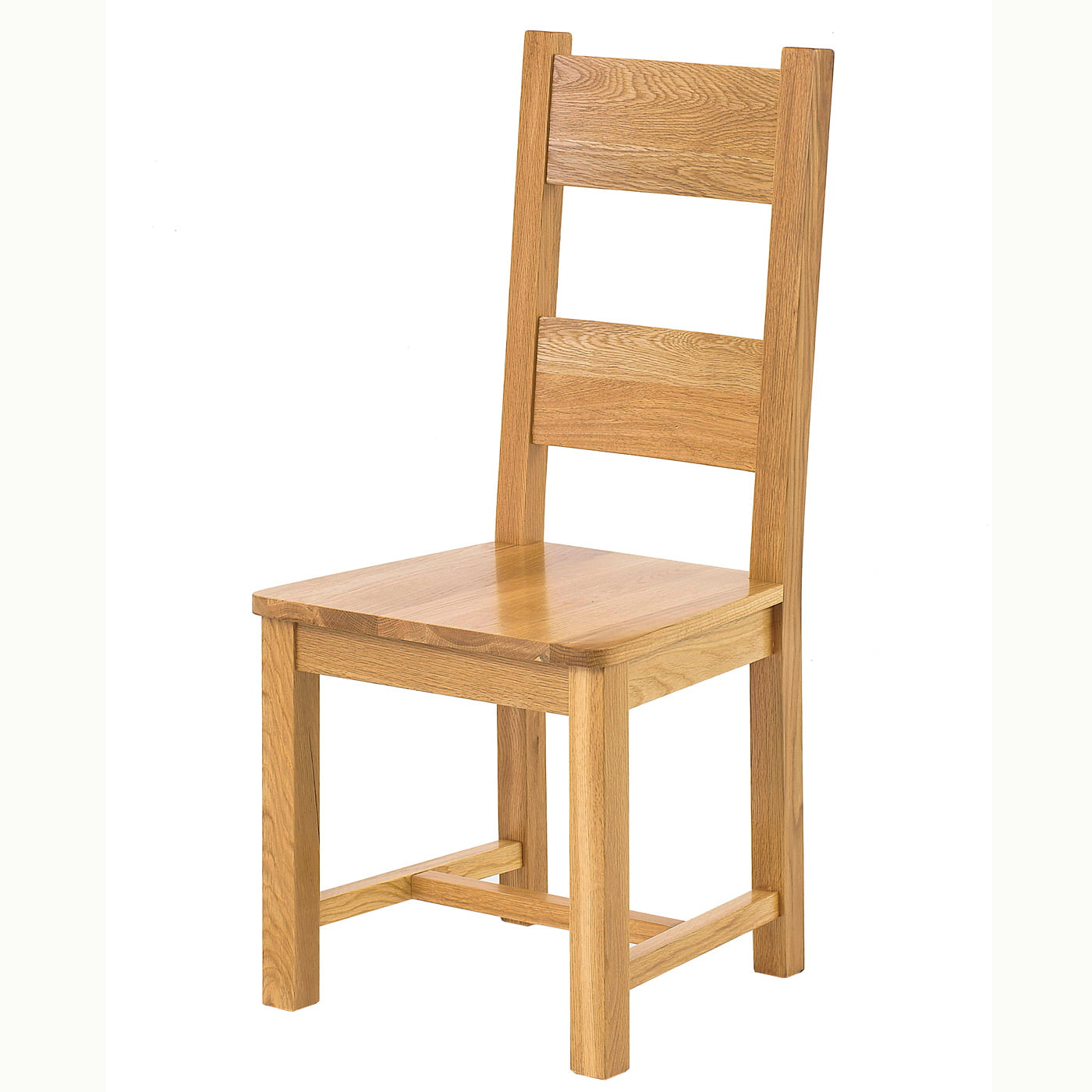 Lincoln Solid Oak Ladder Back Chair Solid Seat RedTree  : lincoln solid seat chair 1 from redtreefurniture.ie size 1400 x 1400 jpeg 299kB