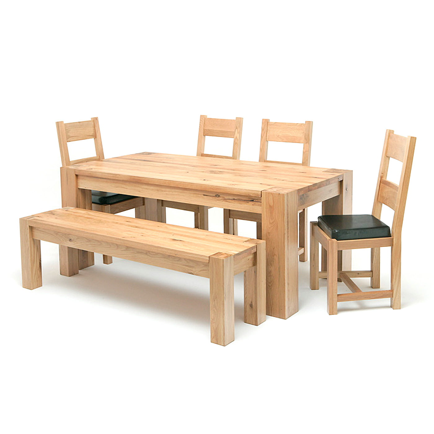Lincoln Table Oak Bench