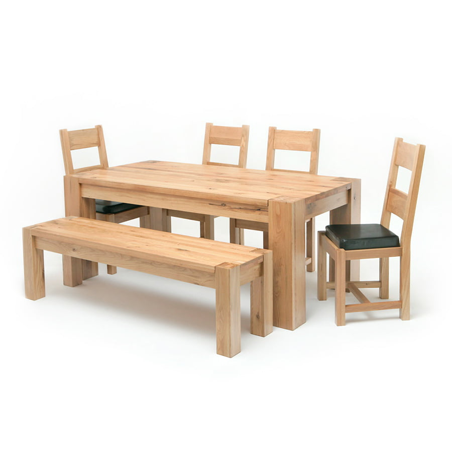 Lincoln 18M Solid Oak Dining Table