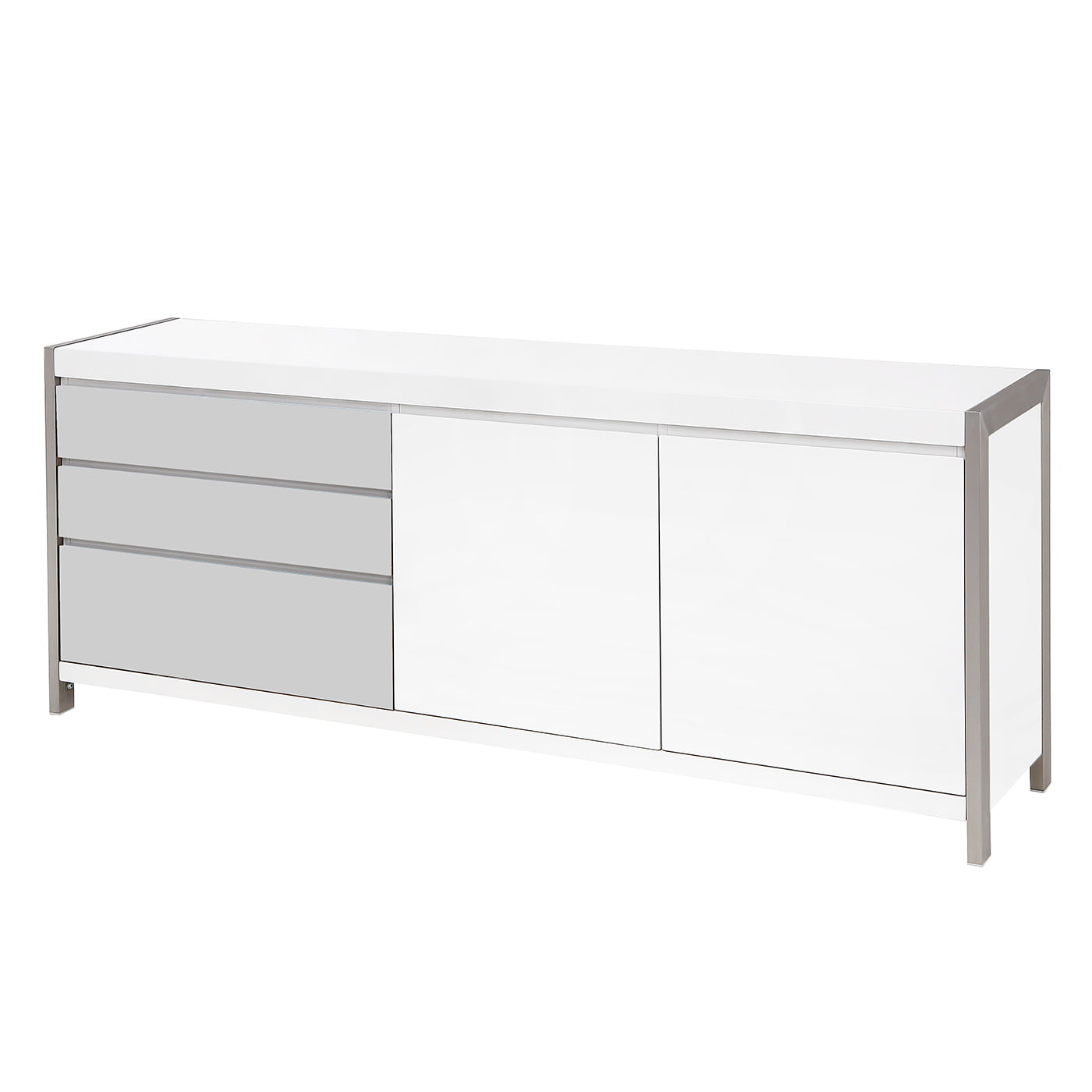 Dolcedo White High Gloss Sideboard Redtree Furniture