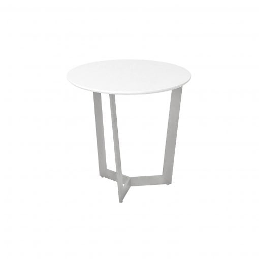 Scet Salconi High Gloss Round End Table Redtree